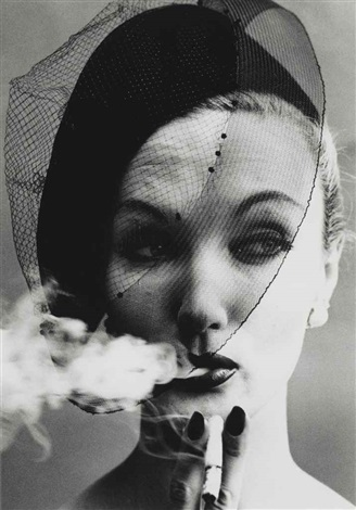 smoke veil paris vogue by william klein