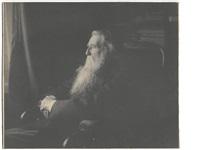 portrait of john ruskin by frederick hollyer