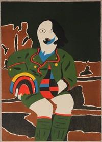 il pittore di monaco by eduardo arroyo