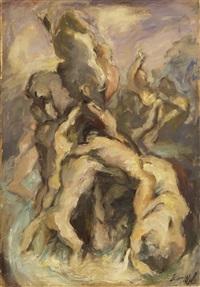 sintflut by alexander leo soldenhoff