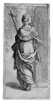 donna con un crocifisso by guido reni