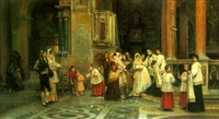 the baptism by juan gimenez y martin