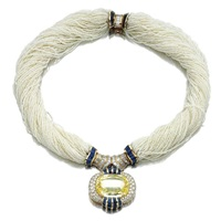 a necklace by randa tabbah