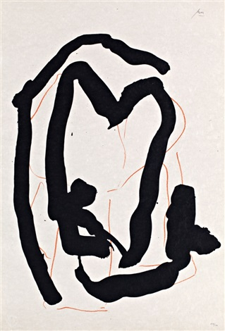 untitled from beau geste pour lucrèce by robert motherwell