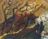 galilee landscape by yitzhak frenkel-frenel