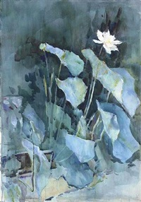 white lotus by ralph wormeley curtis
