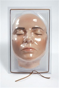 sleeping mask by gillian wearing