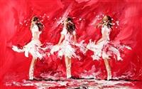 three ballerinas by lorna miller
