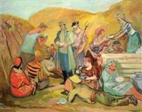 meal in the field by meier akselrod