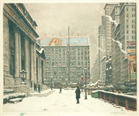 new york public library by t. frantisek simon