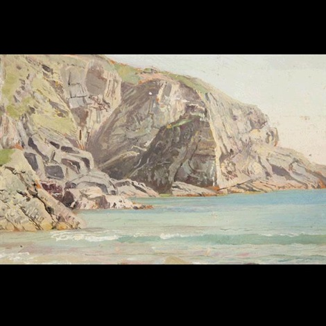 davids headlands wales by william trost richards
