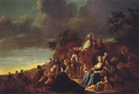 miracle of the loaves and fishes by adriaen gael the younger