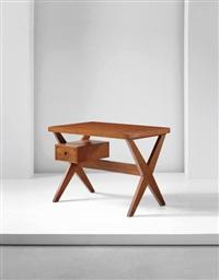 steno's desk', model no. pj-ta-12-a, chandigarh by pierre jeanneret