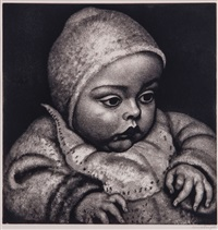 infant by dame laura knight