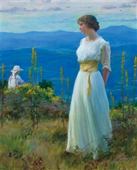 far away thoughts by charles courtney curran