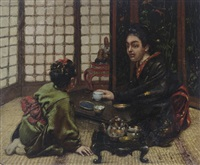 japanese tea ceremony by henry alexander