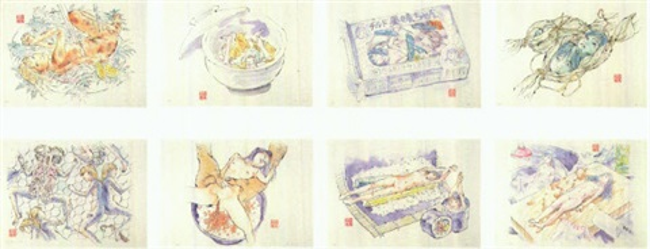 edible artificial girls mimi chan 8 works by makoto aida