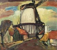 windmill de hoop, middelburg by reimond kimpe