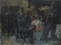 musicians by georg eisler