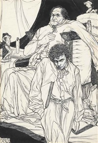 officialism (from a book of satyrs) by austin osman spare