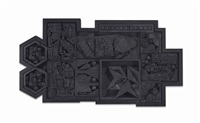 black light zag 3 by louise nevelson
