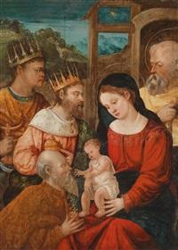 missing artist die anbetung der könige by flemish school (16)