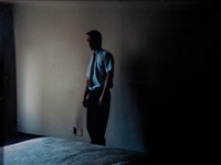 in a hotel room in braamfontein ii by jo ractliffe