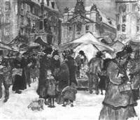 christkindelmarkt, freyung by alfred gerstenbrand