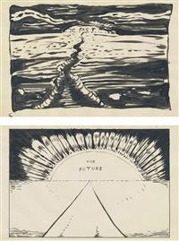 the past and the future (in 2 parts) by mike kelley