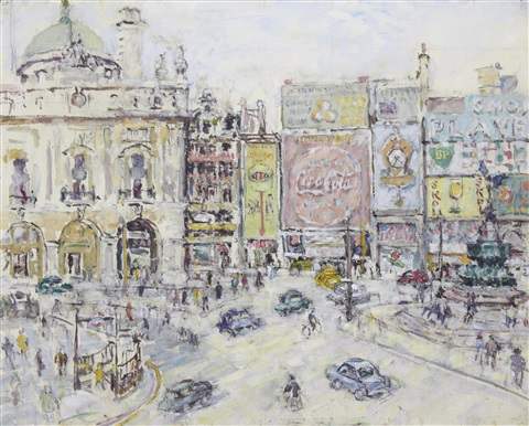 piccadilly circus by evelyn abelson