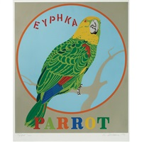 parrot (from decade) by robert indiana