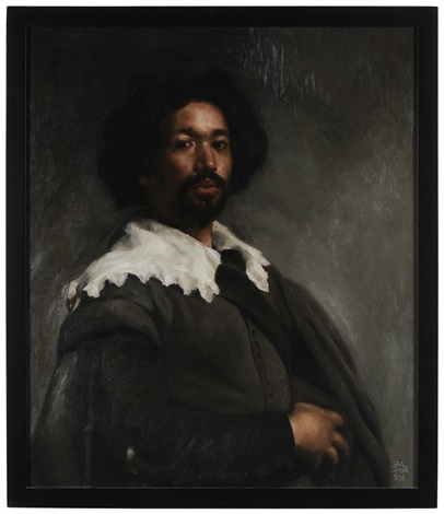 portrait of juan de pareja after diego velazquez by edward minoff
