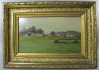 paysage du sud-ouest by louis alexandre cabié