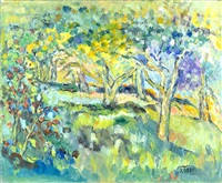 summer landscape by judyta sobel