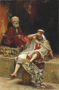 alnaschar's fortune, arabian nights by william ewart lockhart