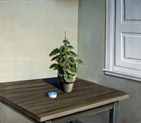planta y vereda (from los malvones series) by pablo suárez