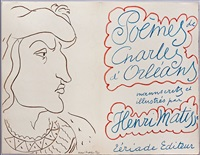 poèmes (book with 54 original lithographs) by henri matisse