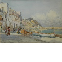 the isle of capri by robert weir allan