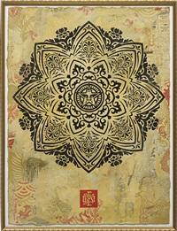mandala ornament 02 by shepard fairey