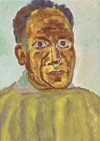 self-portrait by beauford delaney