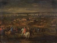 la bataille d'ypres (?) by sauveur le conte