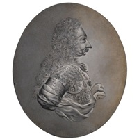 a caricature profile of vittorio amadeo ii of savoy by italian school-piedmont (19)