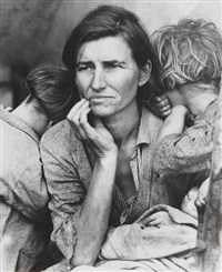 migrant mother, nipoma, california by dorothea lange