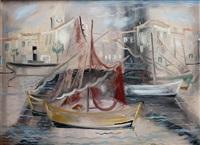 bateaux de pêcheurs dans le port by giorgios (gounaro) gounaropoulos