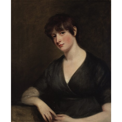 portrait of a young lady by john opie