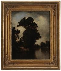 a riverside at cos cob by david johnson