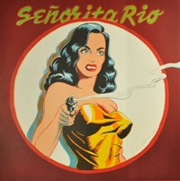 senorita rio (from one cent life) by mel ramos