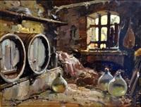interno di cantina by alfredo sablautzki