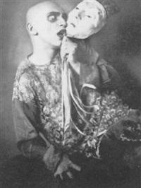 portrait of the dancer, harald kreutzberg by rolf mahrenholz