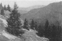 view of little belts, montana by wilbur l. oakes